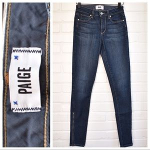 PAIGE Hoxton Ultra Skinny with Zipper Ankle
